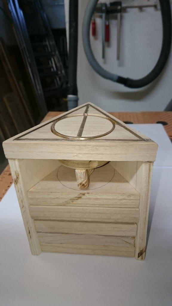 Шкаф для хранения волшебных палочек Гарри Поттера с секретным дверным замком