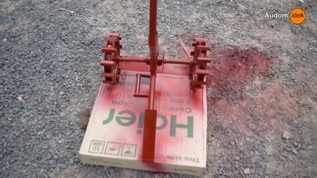 Мини-электрический мотоблок для посадочных задач