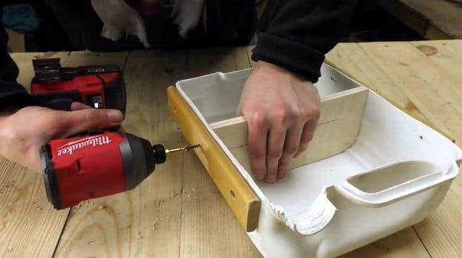 Мебельные ящики для гаража и мастерской своими руками