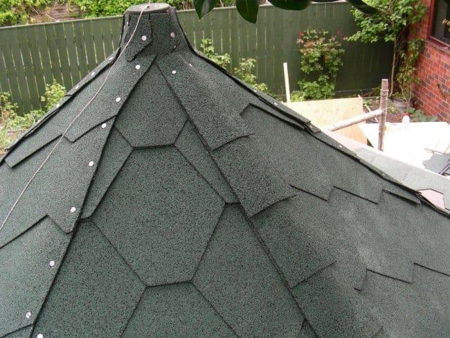 Сарай-шестиугольник