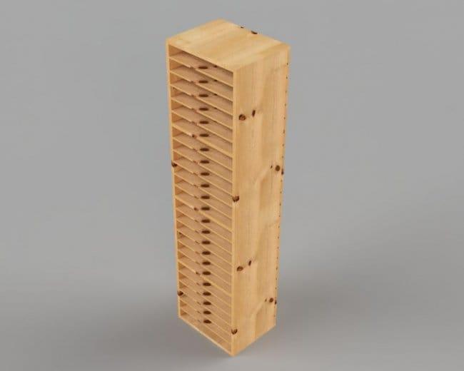 Полка для хранения кейсов с инструментами и деталями