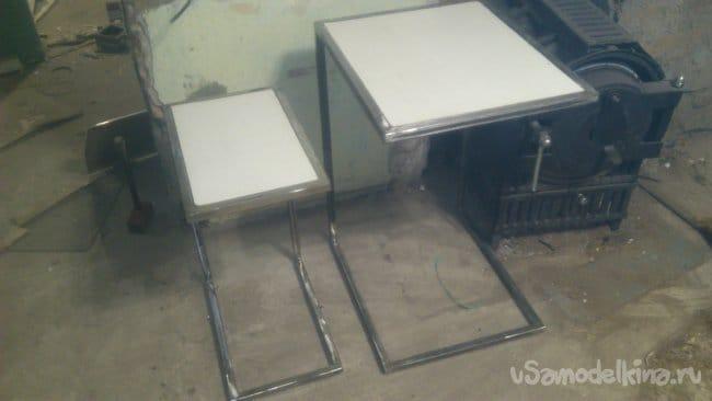 Прикроватные столики своими руками