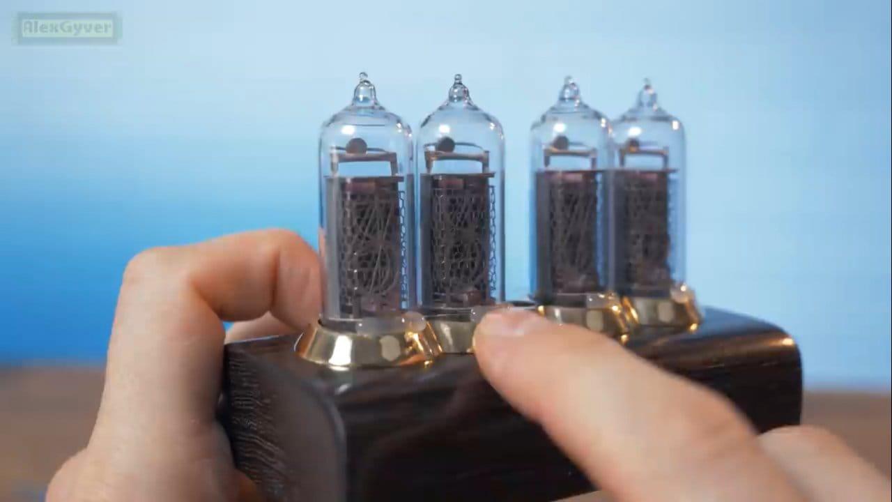 Ламповые часики. Часы на ГРИ и Arduino v2
