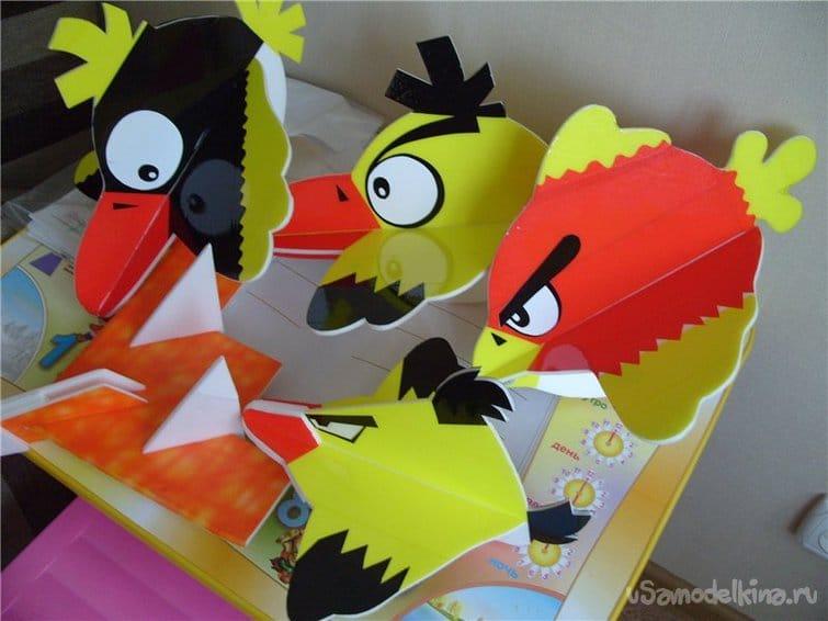 Птичка с мотором Angry Birds