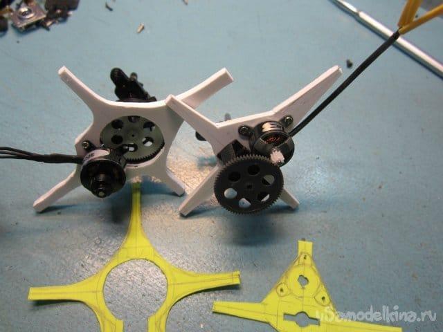 Изготовление редуктора и винтов для зальной модели класса F3P.