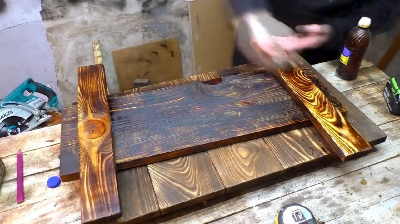 Столик для прихожей своими руками
