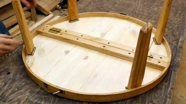 Складной стол «чемоданчик» своими руками