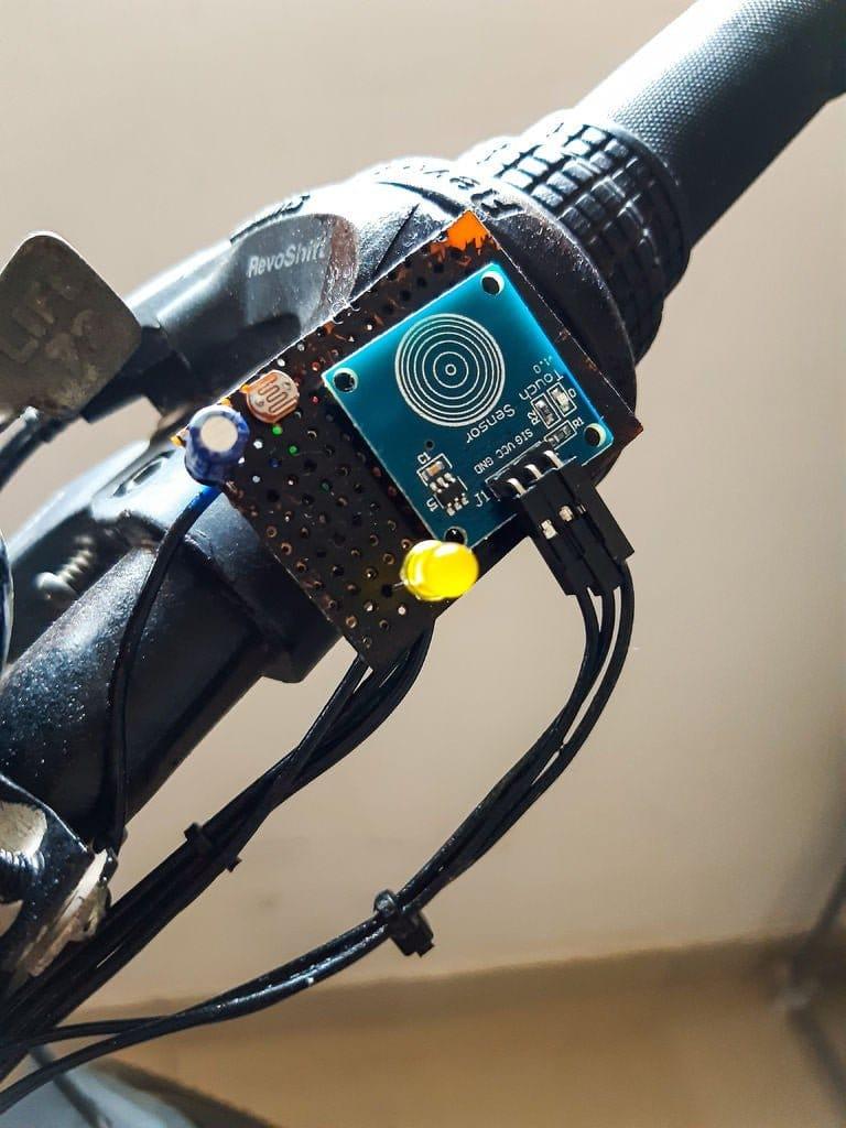 Габарит + указатель поворотов для велосипеда
