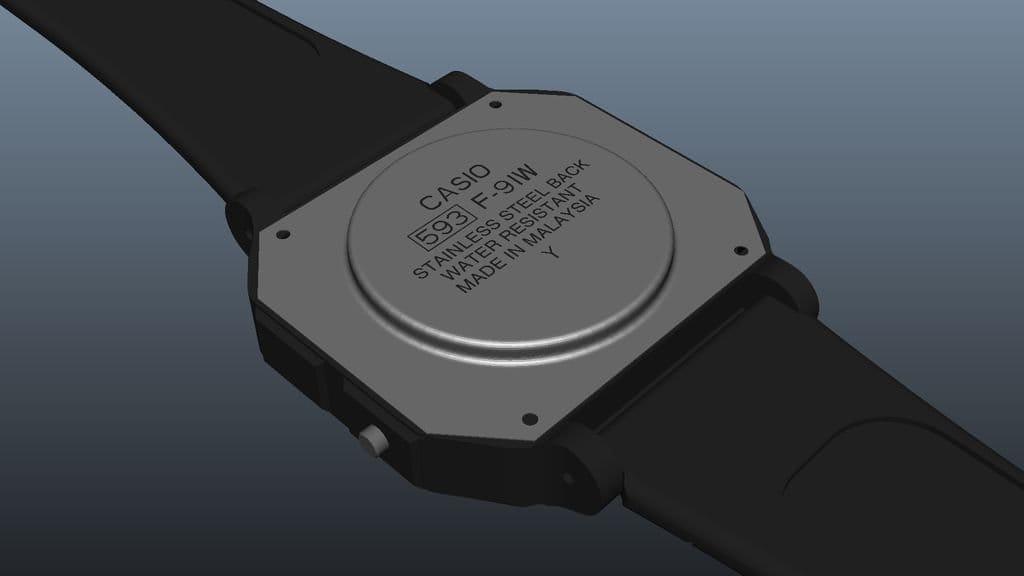 Настенные часы Casio