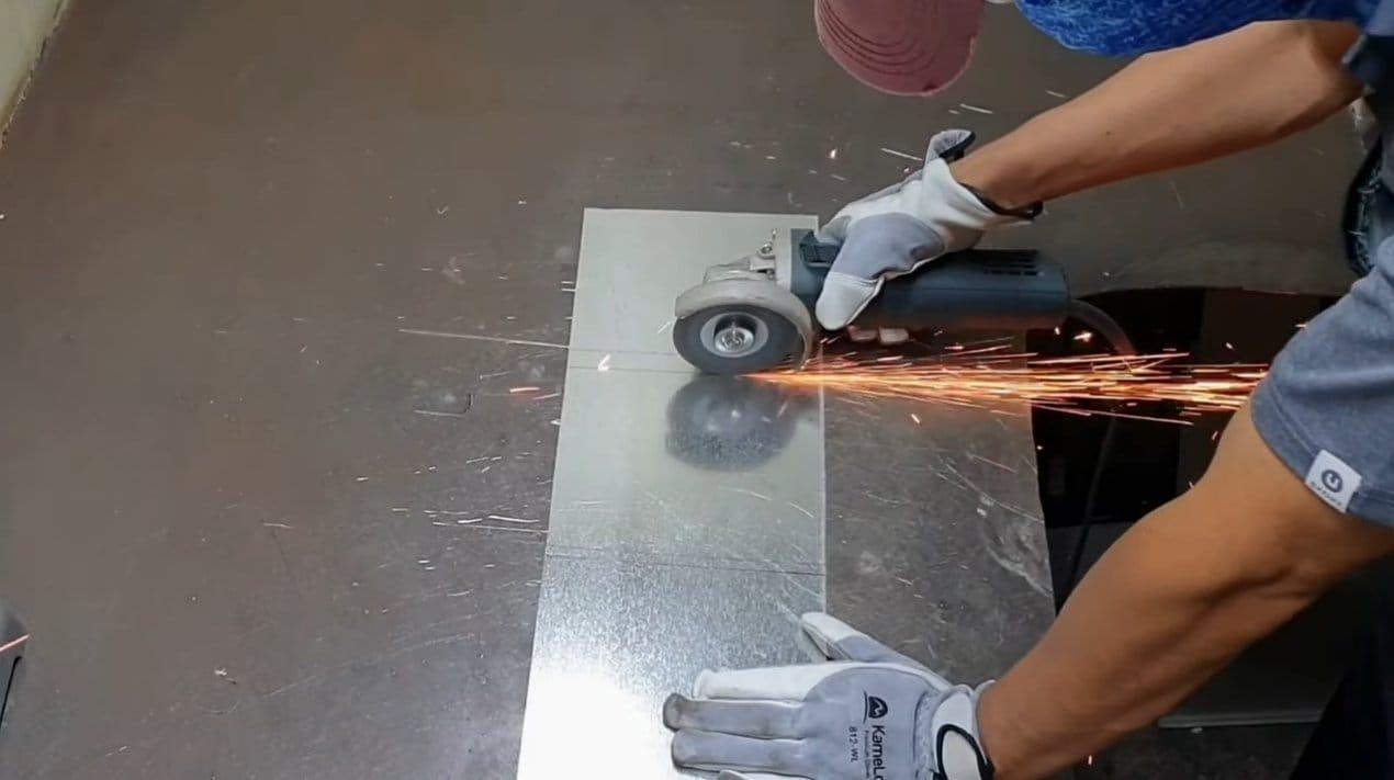 Простая мини-печь из листового металла