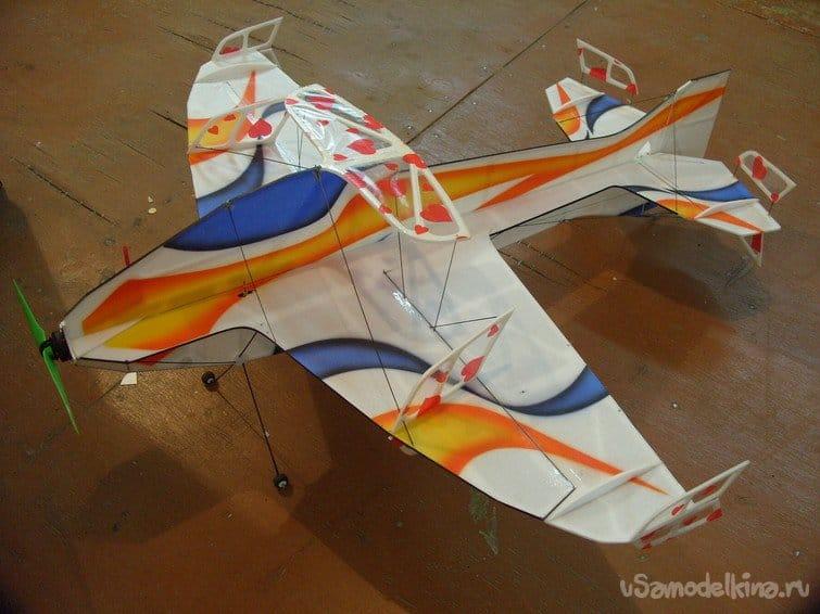 Самолет для зального комплекса F3P