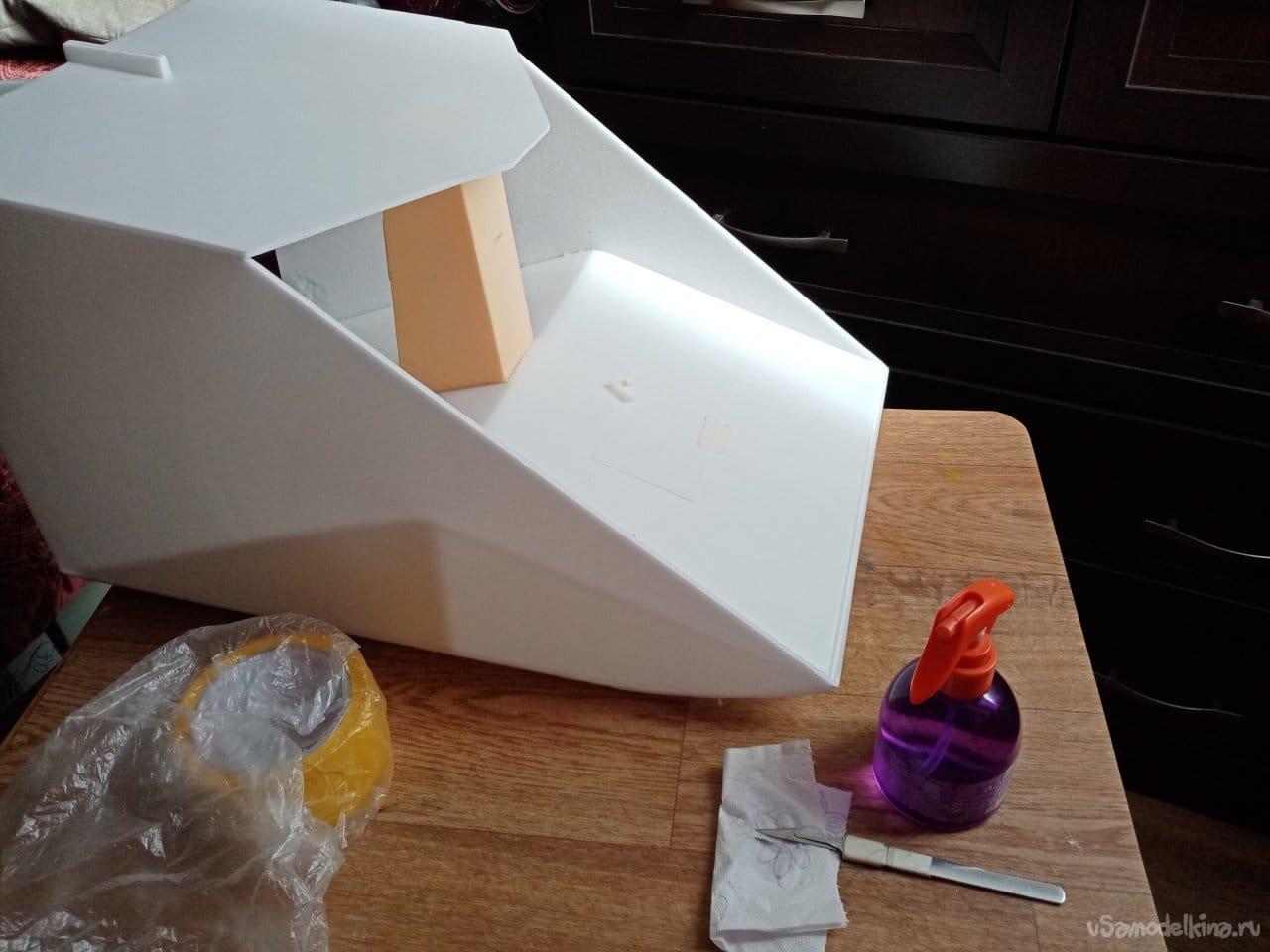 Проект аэросаней, типа аэроглиссера