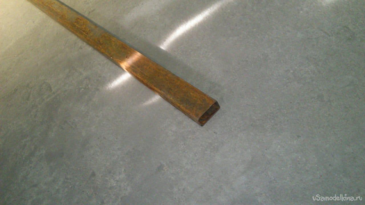 Калитка из металла своими руками
