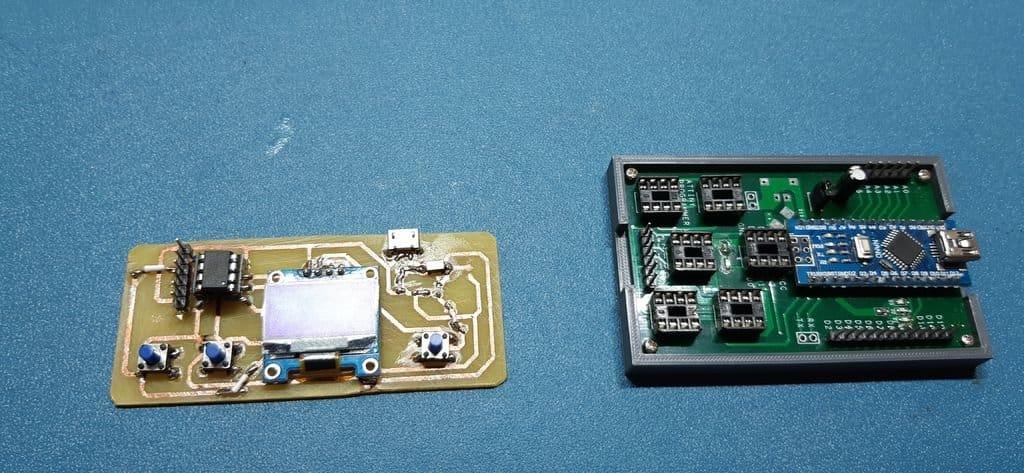 Игровая консоль на микроконтроллере ATtiny85
