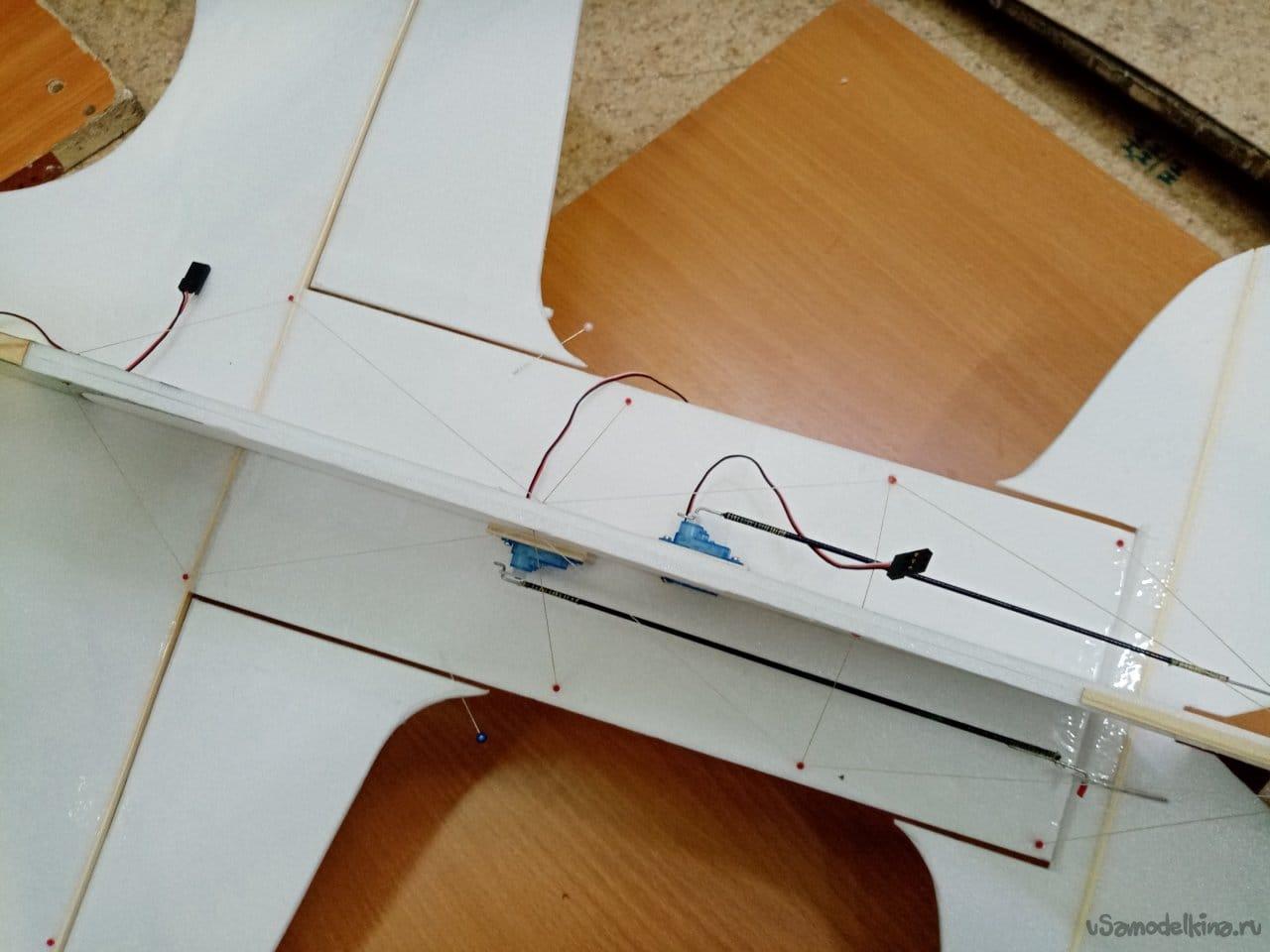 Простой и легкий самолетик для «расколбаса» в 3D