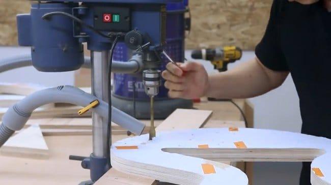 Кресло-качалка из фанеры и веревки своими руками