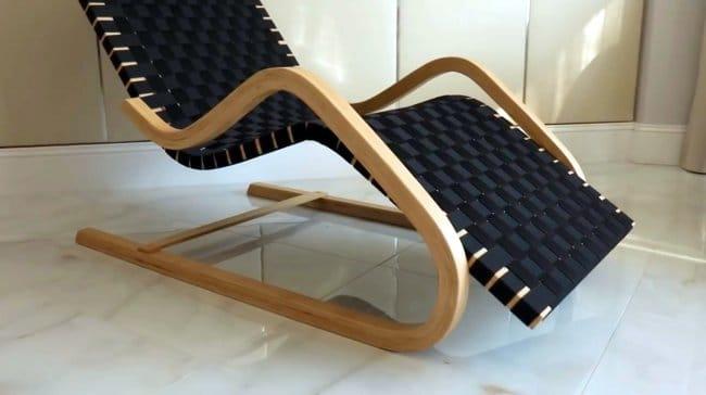Кресло-шезлонг своими руками, техника гибки древесины