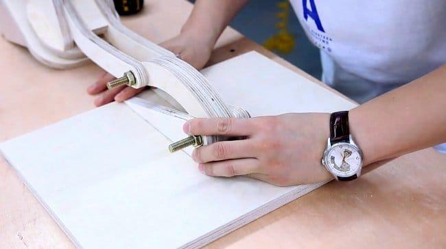 Поворотная подставка для ноутбука своими руками + чертежи