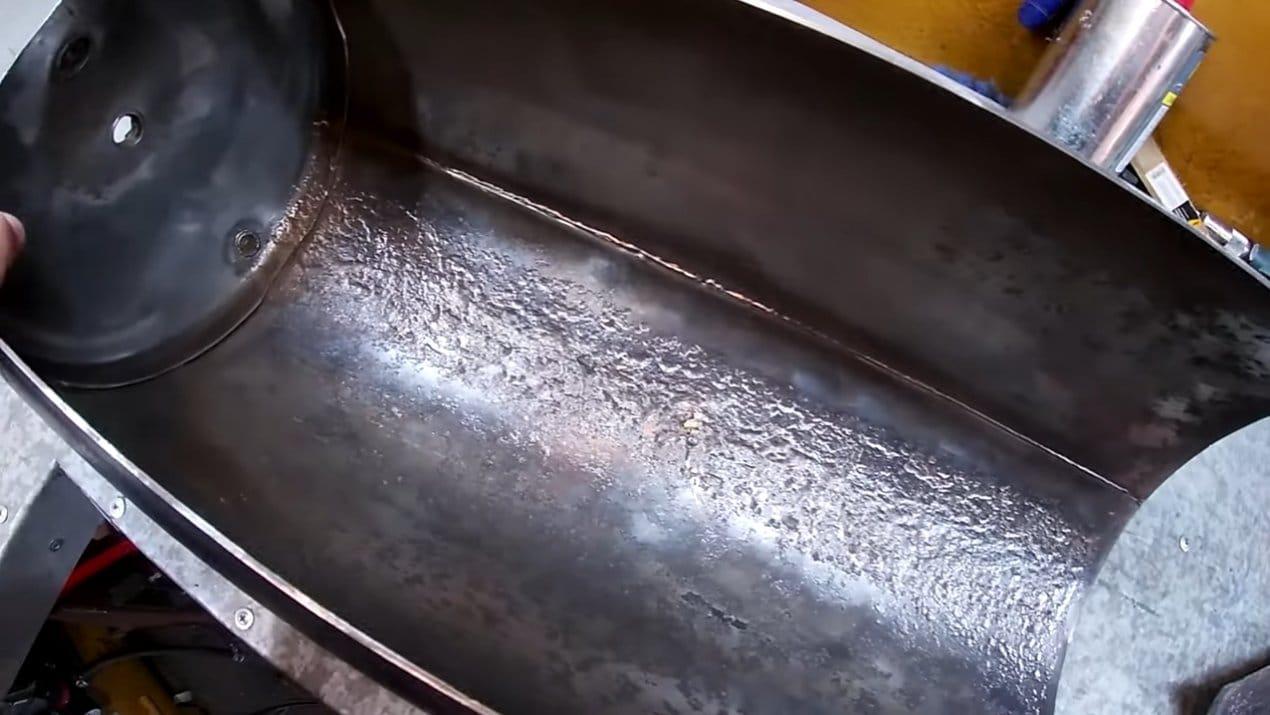 Небольшая духовка из старого ресивера