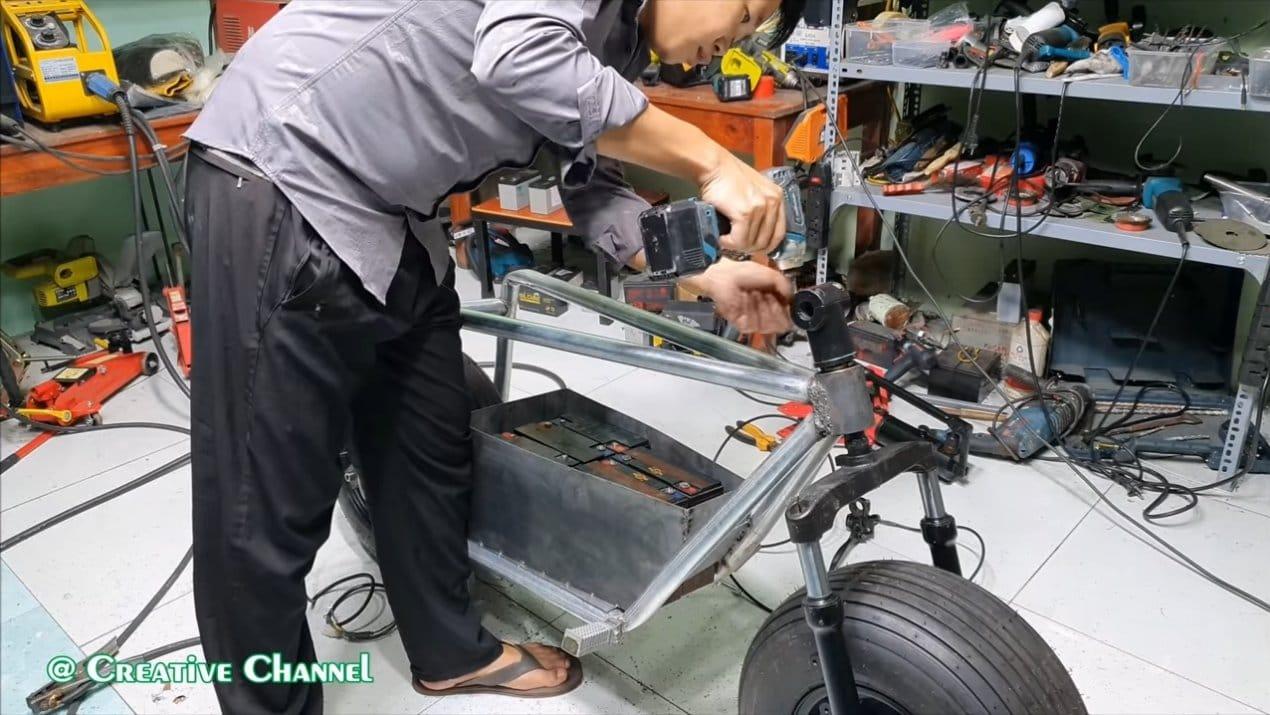 Электрический мотоцикл 55 км/ч