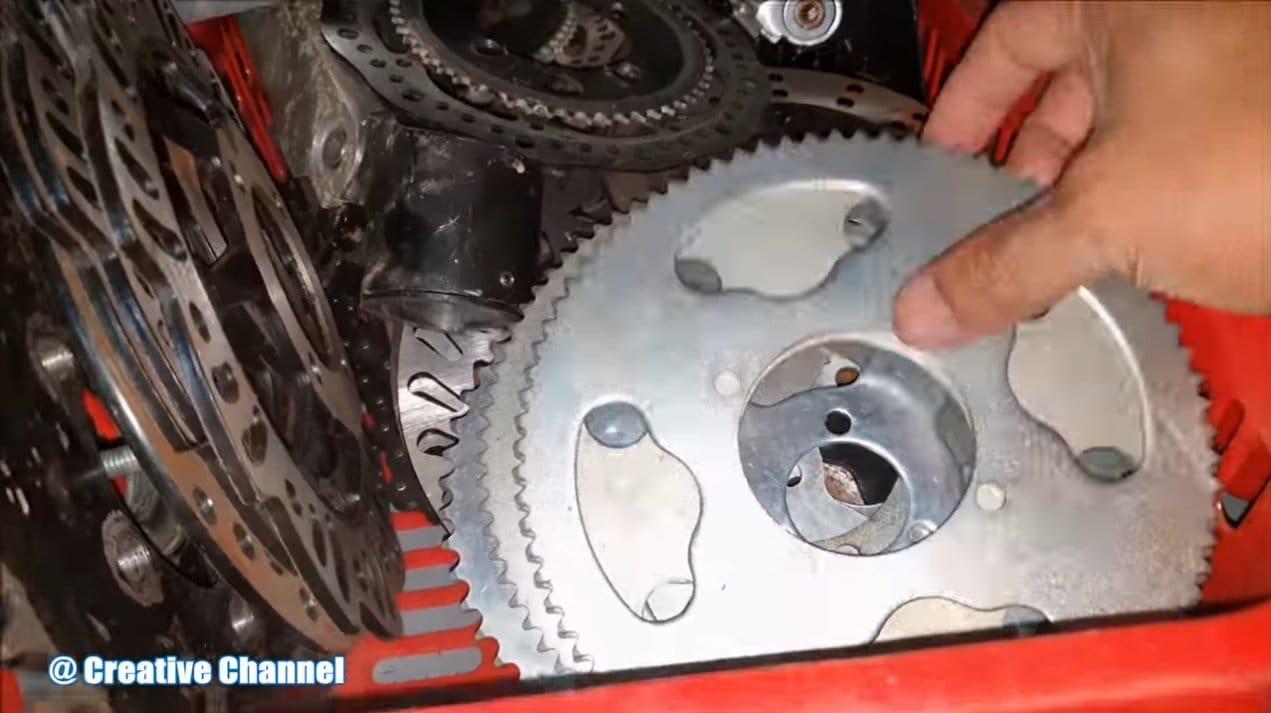 Простой электровелосипед с двумя редукторными моторами 775