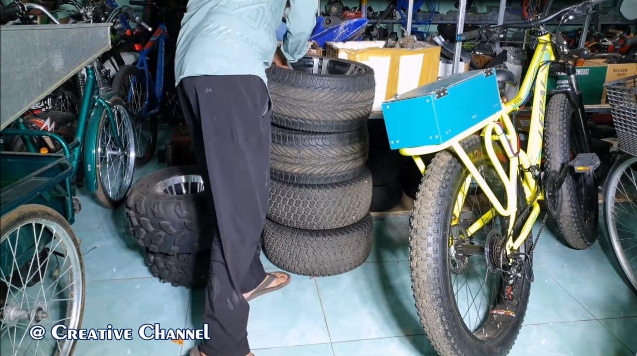 Собираем гироскутер на автомобильных колесах