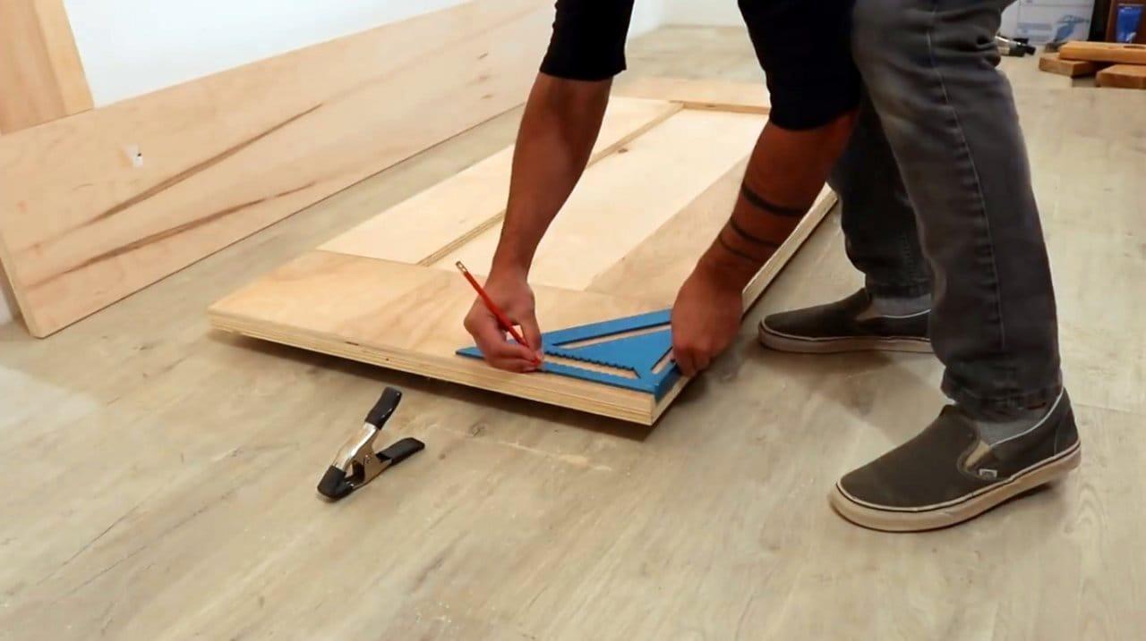 Кровать-платформа своими руками + чертежи