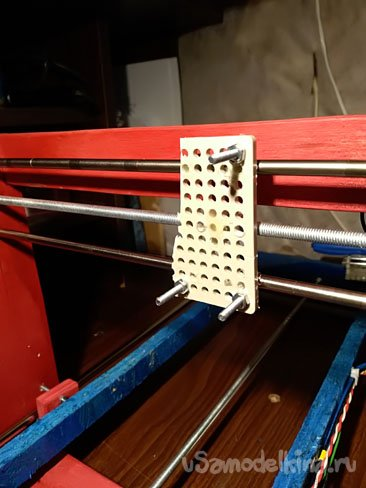 Плоттер из старых принтеров на основе Arduino