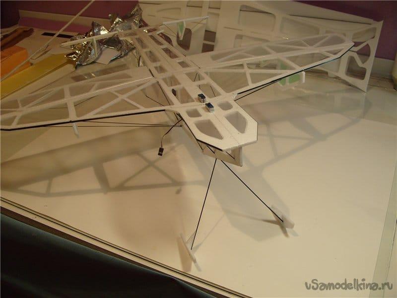 «ЧАЙНЫЙ» самолет для зала