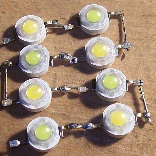 Самодельная сетевая лампа из светодиодов