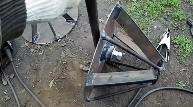 Ежи для прополки картошки на мини-трактор своими руками