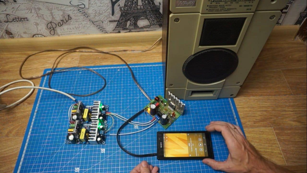 Сборка двухполярного блока питания для усилителя звука
