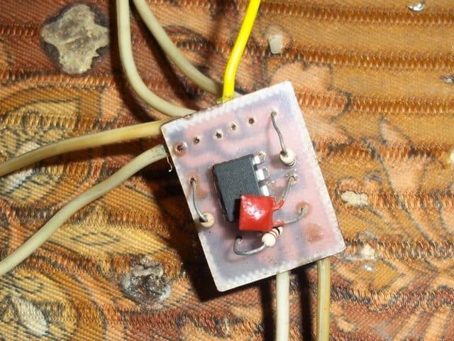 Высоковольтный генератор для плазменной лампы