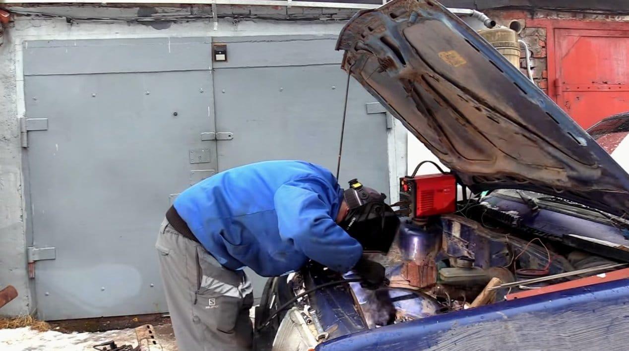 Мотор от мотоблока в «Жигули»