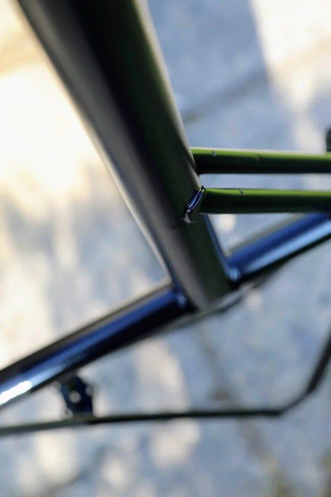 Электровелосипед из старого велосипеда 70-х годов