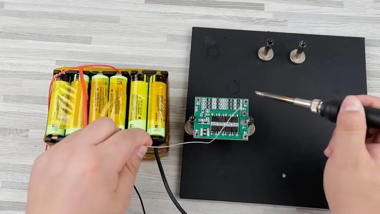 Как собрать электровелосипед с редукторным мотором 12В