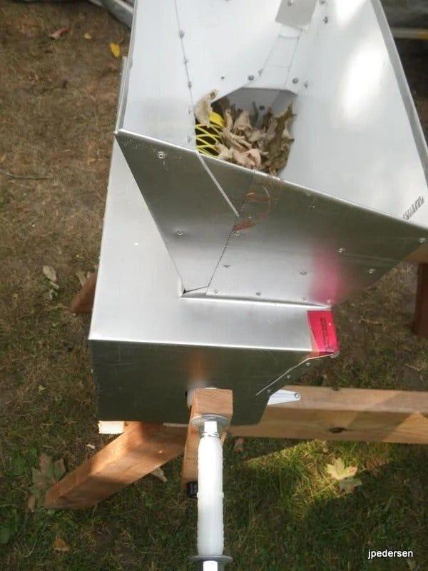 Мульчер для измельчения листьев