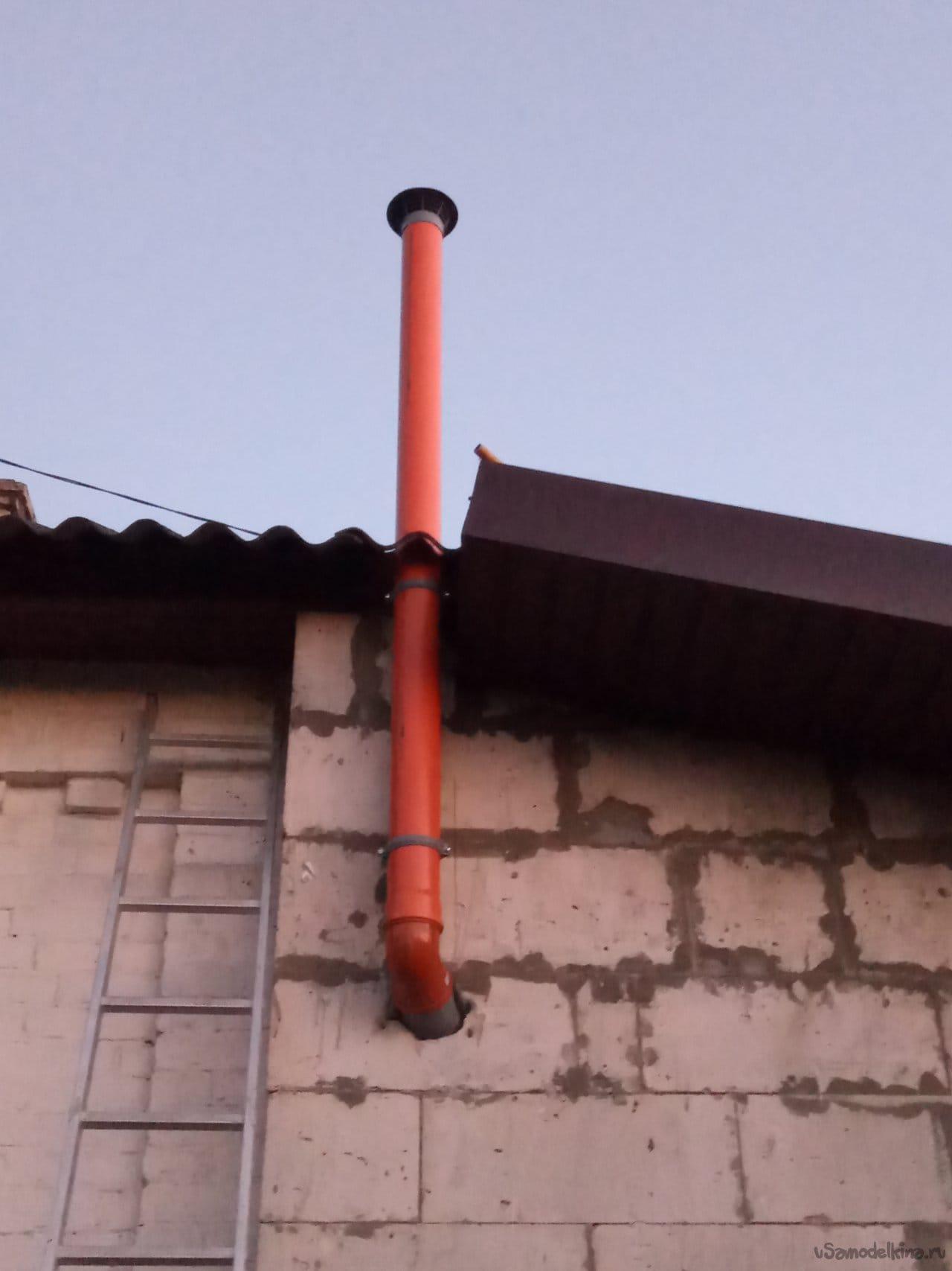 Временная вентиляция для частного дома. Быстро. Не затратно