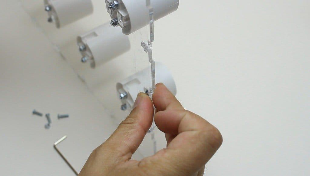 Измеритель шума с ламповой индикацией