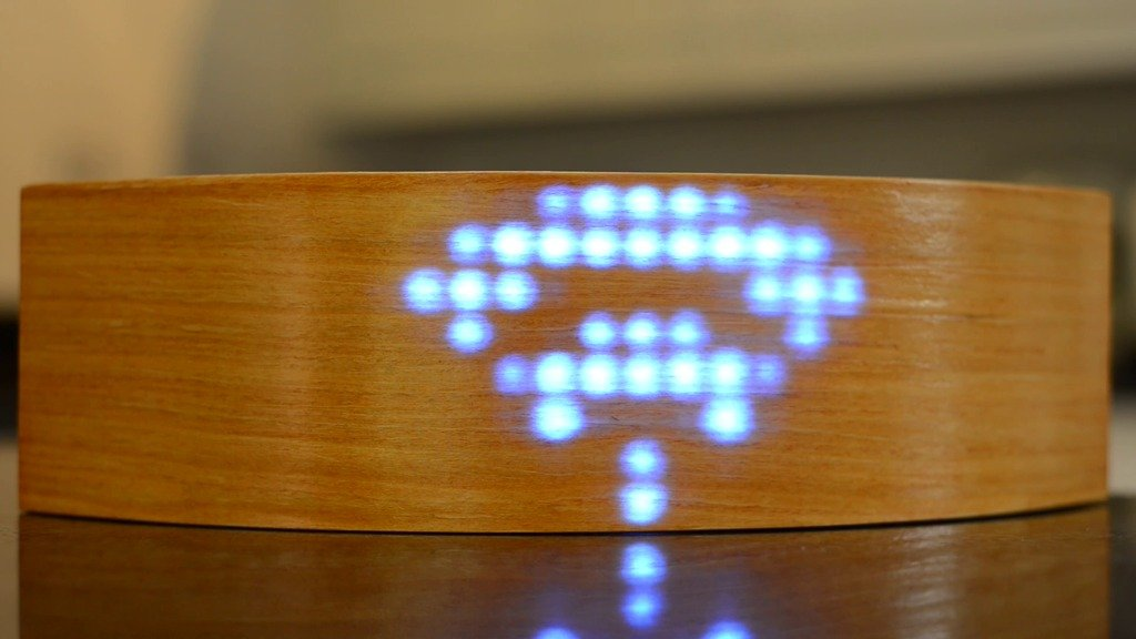 ArClock - светодиодные часы «под дерево»