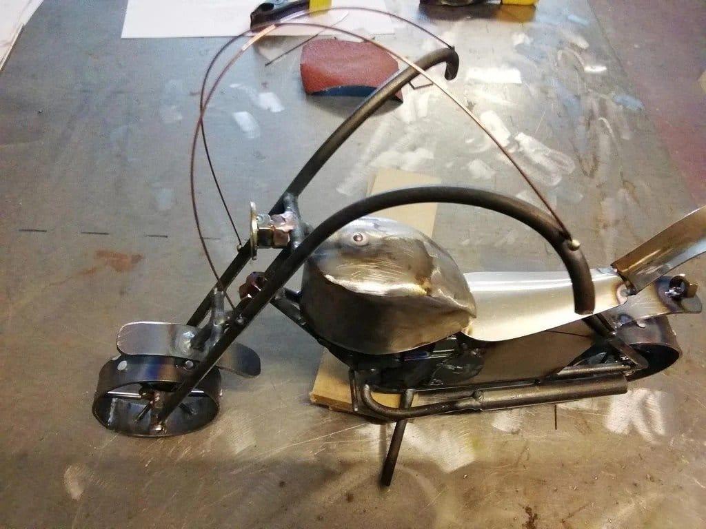 Делаем модель мотоцикла