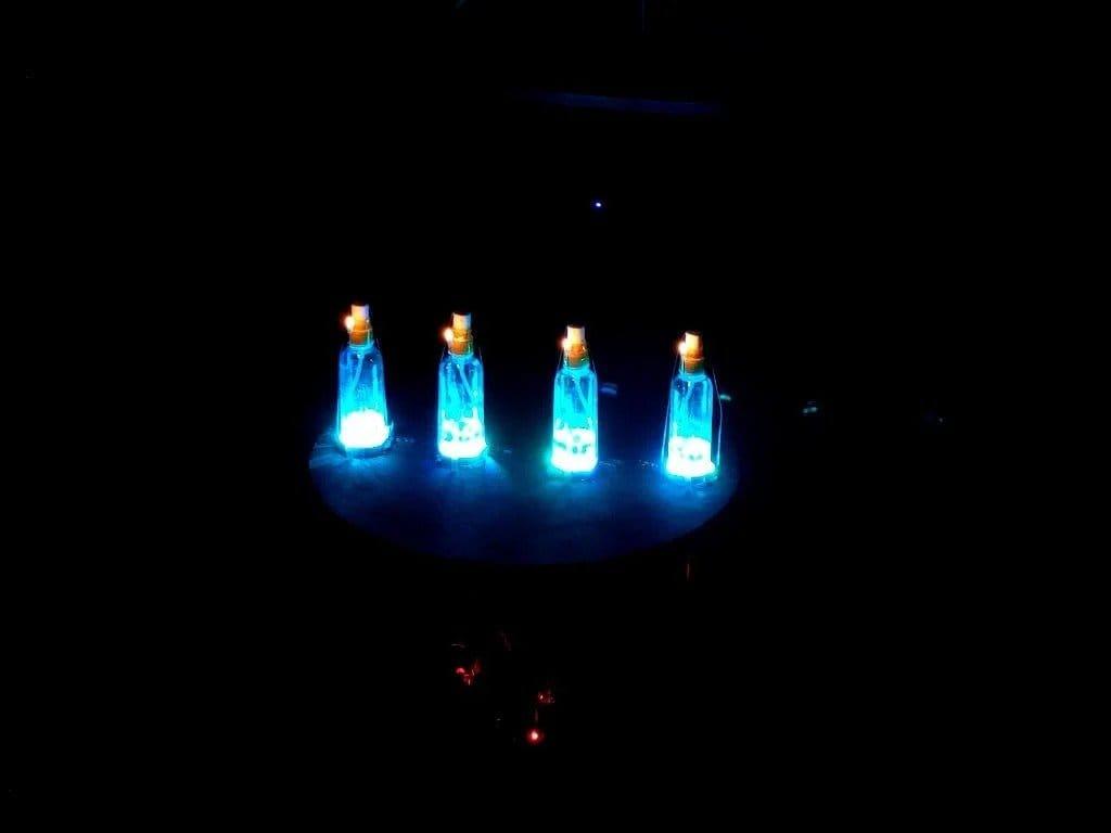 Музыкальное светодидно-огненное шоу