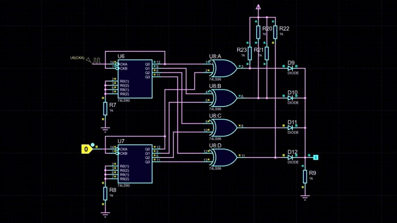 Цифровой ШИМ регулятор с кнопочным управлением