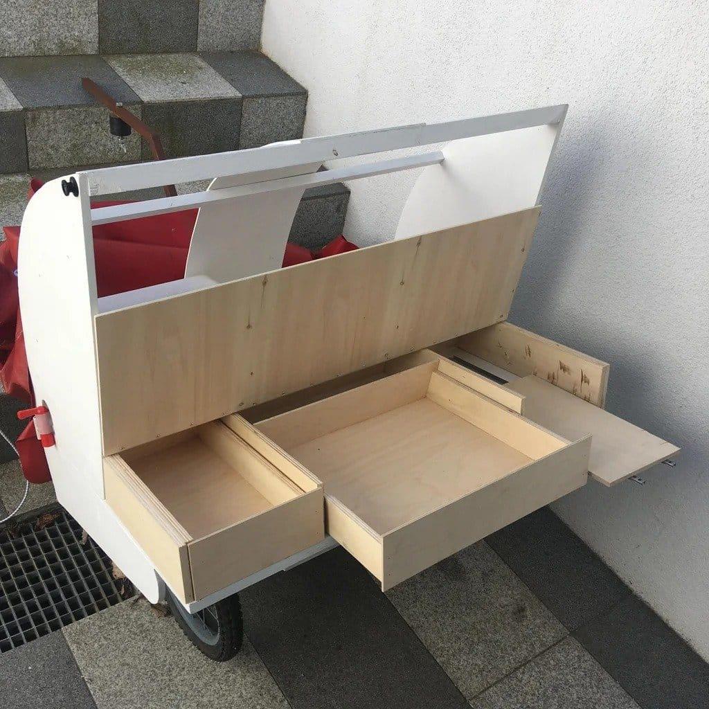 Велосипедный прицеп - дом на колесах