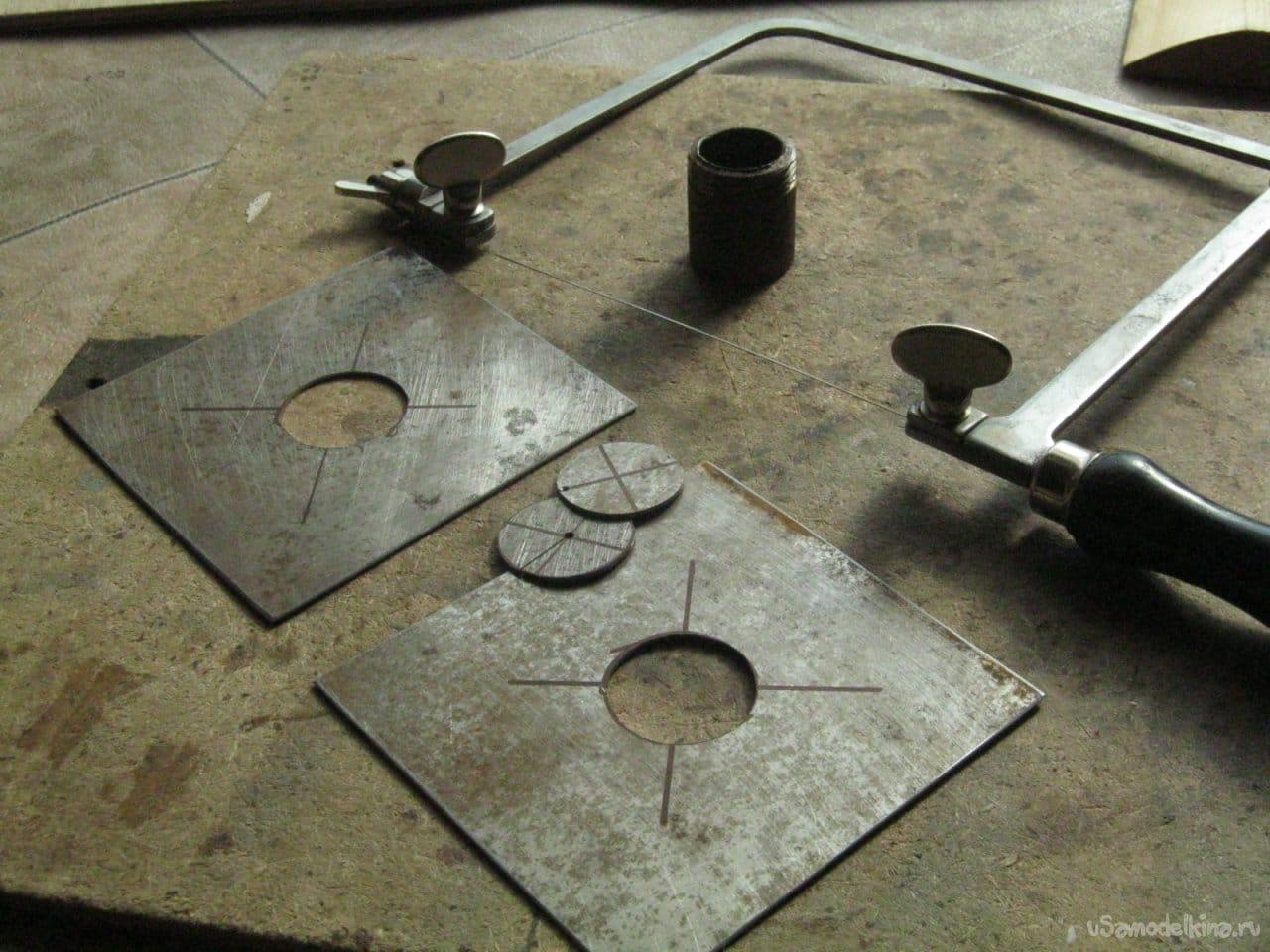 Водяной теплообменник для кирпичной печи. Изготовление, замуровывание в кладку