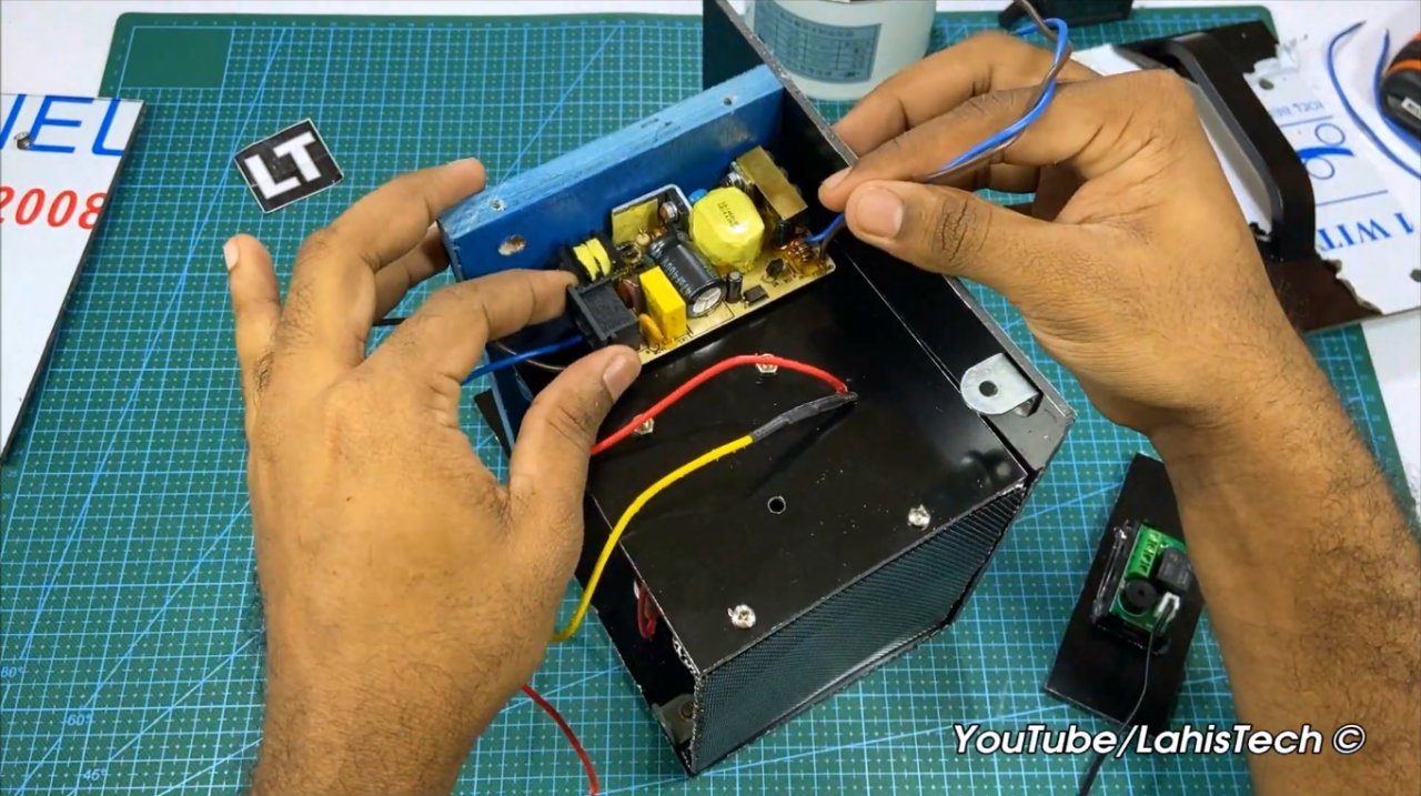 Как сделать тепловентилятор с контролем температуры