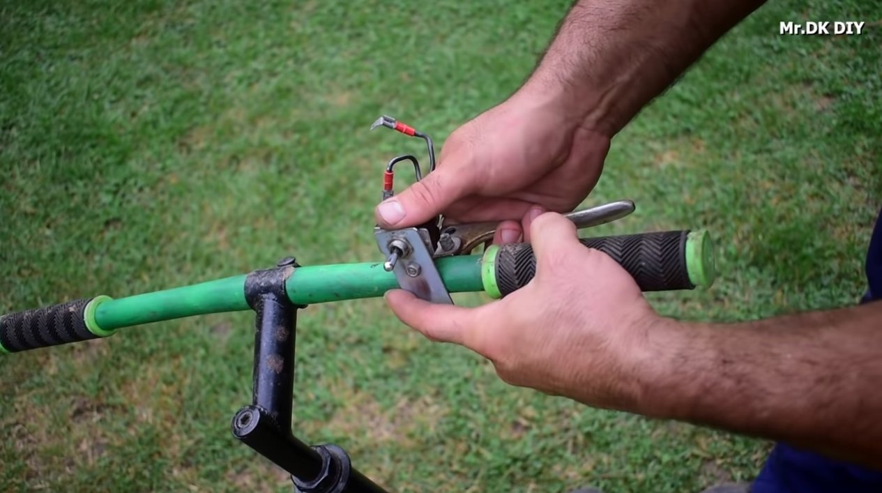 Переделка лыжного велосипеда в электровелосипед