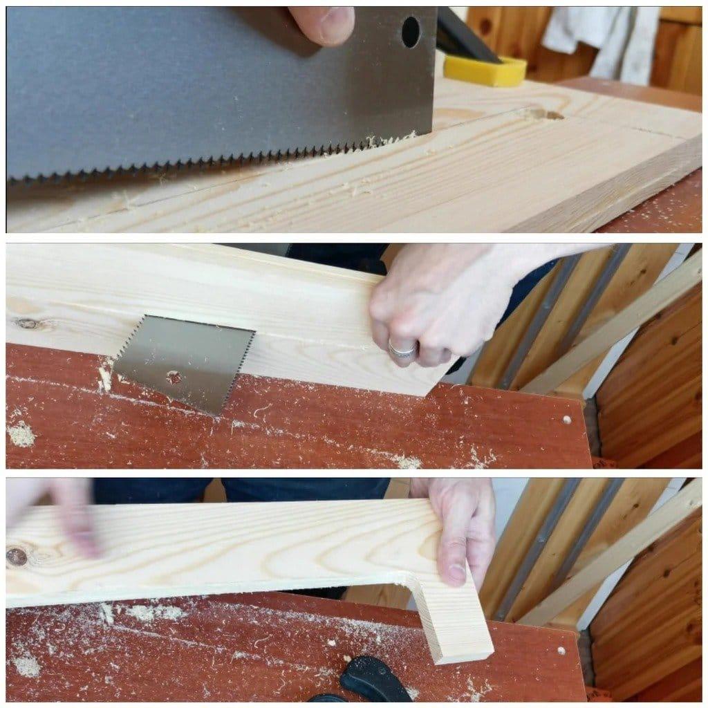 Как собрать табурет без клея и металлического крепежа