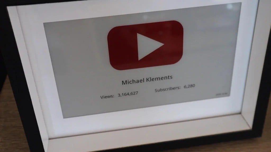 Счетчик подписчиков YouTube
