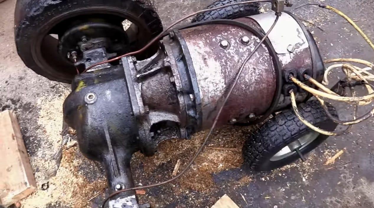 Делаем самокат с мотором на 3 кВт